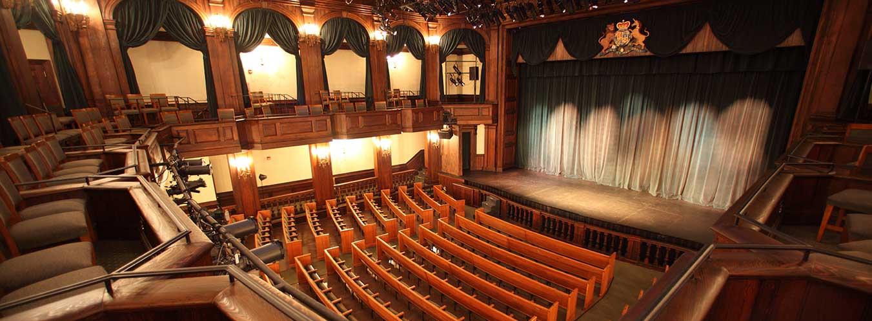 Dock Street Theatre Sitzplätze