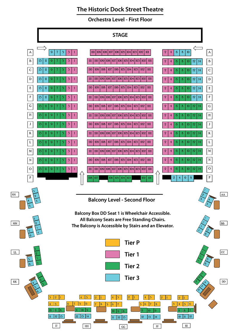 DST SeatingChart 463Seats